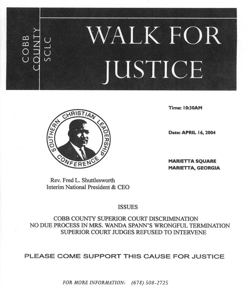 Justice for Wanda Spann   Evidence and Documents